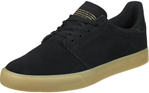adidas Seeley Court, Zapatillas de Skateboarding Unisex Adulto negro