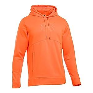 Under Armour Men's Storm Caliber Hoodie, Blaze Orange/Blaze Orange, Large