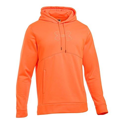 Under Armour Men's Storm Caliber Hoodie, Blaze Orange/Blaze Orange, Medium