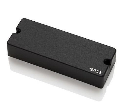EMG 40DC Active Ceramic 5-String P-Bass Guitar Pickup, Black ()