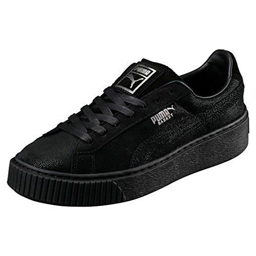 Donna Puma Reset Sneaker Basket Noir Nero Platform IwI87C