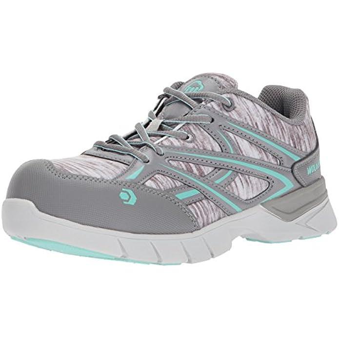 WOLVERINE Women's Jetstream Athletic Composite Toe Work Shoe
