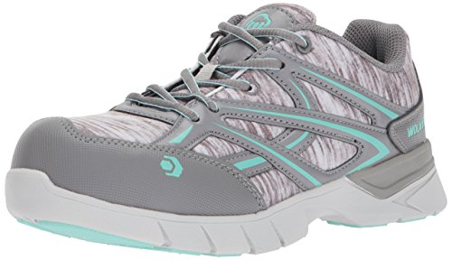 Jetstream Blue Athletic Shoe Toe Grey Wolverine Work Composite Women's OSnqxC8w5