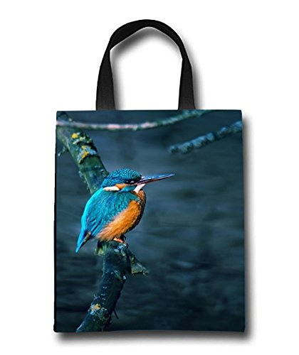 Gorgeous Little Bird Beach Tote Bag - Toy Tote Bag - Large Lightweight Market, Grocery & Picnic by Linhong