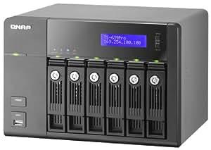 QNAP TS-639 Pro Turbo NAS - Unidad RAID (0 GB, Serial ATA II, 0 GB, 1.6 GHz, 1 GB, DDR2)
