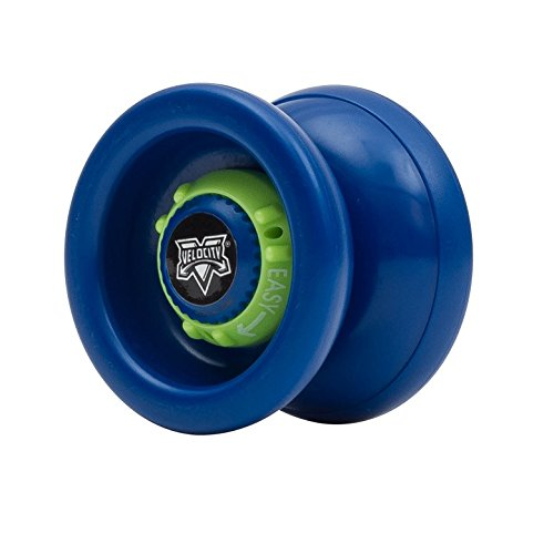 YoyoFactory Multi Setting Velocity High Performance YoYo - Adjustable for both Beginners & Experts - Stainless Steel Bearing for Improved Spin - Includes Spare String and Guide - Boys or Girls Ages 8+