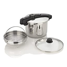 Chef Pressure Cooker Size: 6 Quart