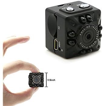 Amazon.com : Aufikr Mini DV Camera Small Camera 1080P Full HD 12.0 ...
