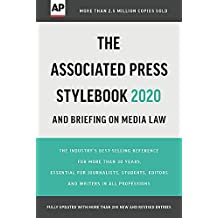 The Associated Press Stylebook: 2020-2022 (Associated Press Stylebook and Briefing on Media Law)