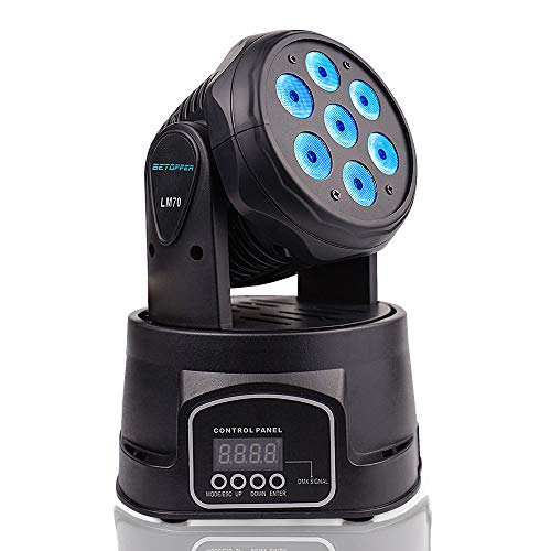 3 Color Led Moving Head Light in US - 8