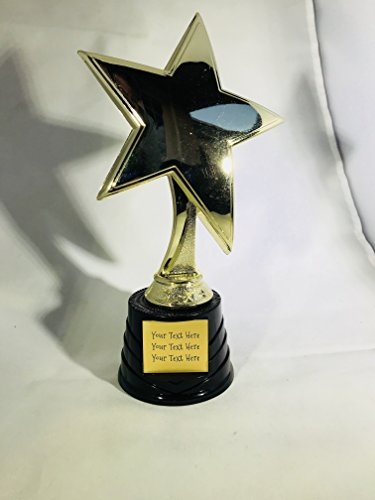 Trophy Crunch - Custom Oscar, Star, Victory Achievement Trophies - Star Power - Custom Plate Engraving