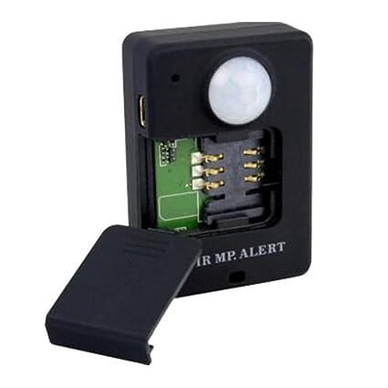 Sensor infrarrojo Detector de movimiento GSM alarma mando