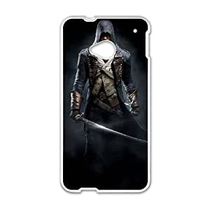 Assassin'S Creed Unity HTC One M7 Cell Phone Case White persent xxy002_6907736
