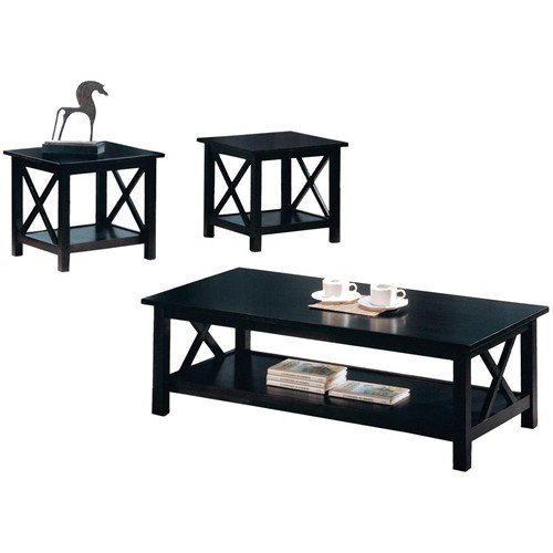 Coaster Briarcliff 3 Piece Occasional Coffee & End Table Set - Deep Cappuccino ()