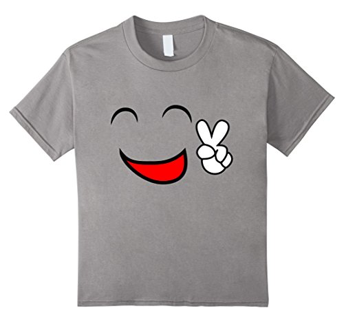 Costumes Sister Coordinating Halloween And Brother (Kids Funny Emoji Face Smile Costume T-Shirt 12)