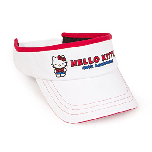 hello-kitty-golf-junior-40th-anniversary-visor-white
