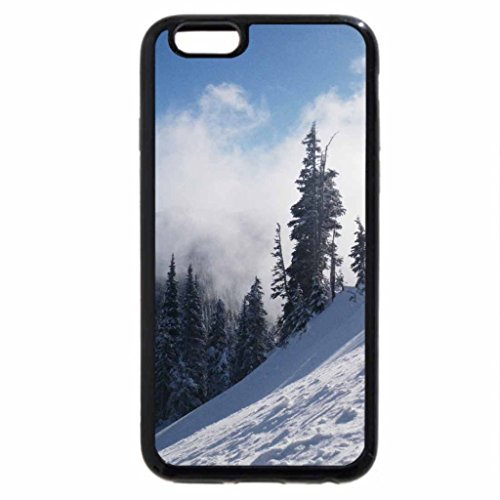 iPhone 6S Case, iPhone 6 Case (Black & White) - Slop