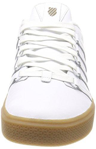 Uomo K Bianco 151 Swiss Gum White Sneaker Donovan SzqUtz