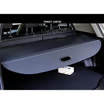 fmtoppeak retractable black cargo cover trunk luggage shade for jeep cherokee 2014. Black Bedroom Furniture Sets. Home Design Ideas
