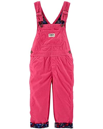 OshKosh B'Gosh Baby Girls' Corduroy Overalls, 3-6 Months Pink