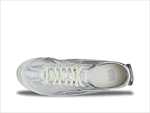 finest selection 11ad1 d2e82 Amazon.com: Onitsuka Tiger by Asics Unisex Mexico 66 Silver ...