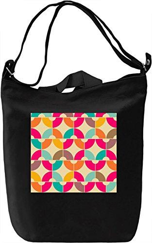 Graphic Pattern Borsa Giornaliera Canvas Canvas Day Bag| 100% Premium Cotton Canvas| DTG Printing|