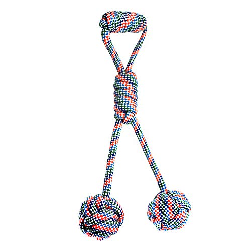Dog Rope Toys for Aggressive Chewers, Indestructible Dog Chew Rope Cotton Tug of War Dog Toys Interaction Toys for Medium to Small Breeds