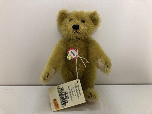 Steiff Historic Miniature Replica Collection 16cm Brass Petsy Teddy Bear 029424