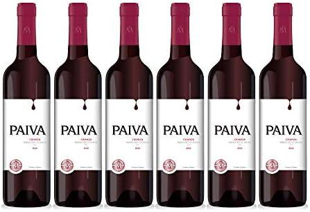 PAIVA   Vino Tinto Crianza Tempranillo, Garnacha, Merlot PAIVA CRIANZA   Bodegas Martínez Paiva   Pack de 6 botellas de 75 cl: Amazon.es: Alimentación y bebidas