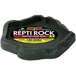 Zoo Med Laboratories SZMFD20 Repti-Rock Food Dish, Small