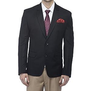 FAVOROSKI Men's Slim Fit Wool Blazer