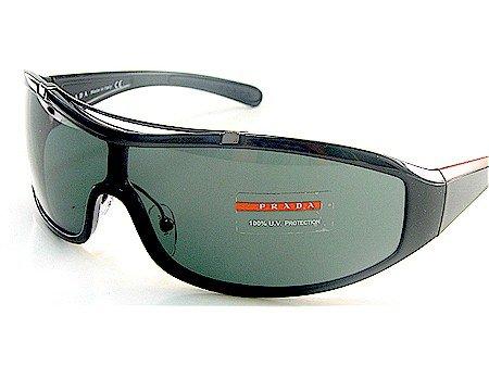 14148d7aec New Prada Sport Sps 06G 1Ab-1A1 Smoke Lens Sunglasses Size 01-36-120 ...