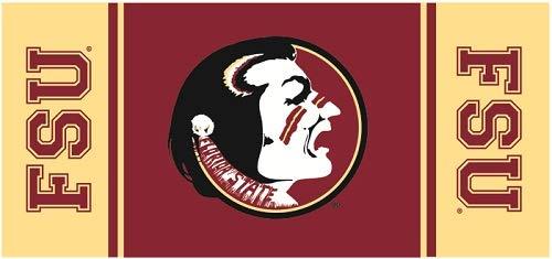 9 Inch Osceola Logo Decal FSU Florida State University Seminoles Noles FL Removable Wall Sticker Art NCAA Home Room Decor 9 by 4 Inches]()