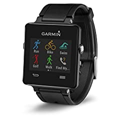 GPS Smartwatch for the Active Lifestyle Ultra-thin GPS smartwatch with a sunlight-readable, high-resolution color touchscreen Built-in sports apps, including GPS-enabled running, biking and golfing plus swimming and activity tracking, let you...