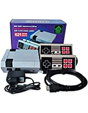 Retro Game Console,HD Classic Handheld Game Console, Built-in 621 Games and 2 NES Classic Controller HDMI Output Video Game,is an Ideal Gift Choice for Children and Adults