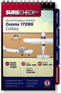 CLEARANCE Piper Comanche 250 FI PA-24-250 1958-64 Pro-Version Quick Reference Aircraft Checklist