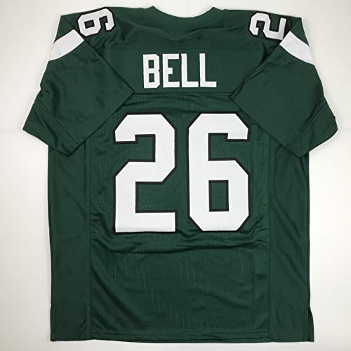 - Unsigned Le'Veon LeVeon Bell New York Green Custom Stitched Football Jersey Size XL New No Brands/Logos
