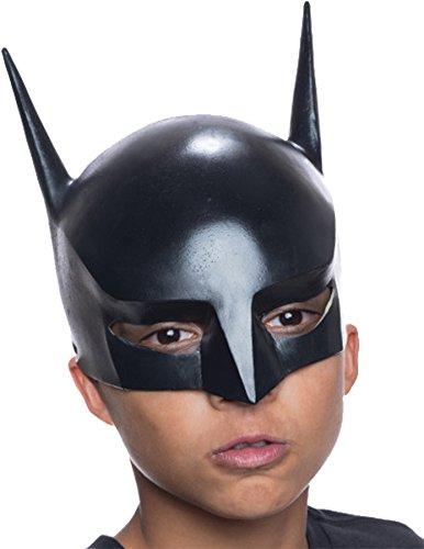 Rubie's Boy's DC Universe Superhero Batman 3/4 Vinyl Child Mask Halloween Accessory