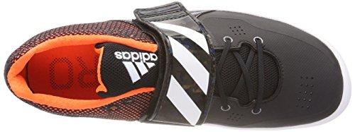 – Fitness Adulto da Hammer Nero White Orange Unisex Adizero Black Scarpe adidas Discus Core Ftwr qUwx0FWX