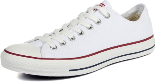 - Converse Unisex Chuck Taylor All Star Low Top Sneakers -  (Optical White ) - 6 D(M) US