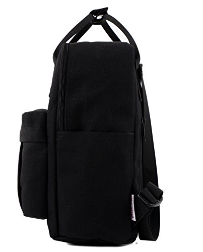 BESTIE 12'' Cute Mini Small Backpack Purse Travel Bag - Black by hotstyle (Image #3)