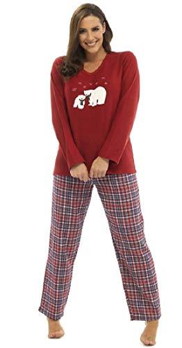 Con Pijama Máscara Invierno Ojos Conjunto l navidad Juego A Home De Para Cálido Sleepwear Dama vxRqFzR