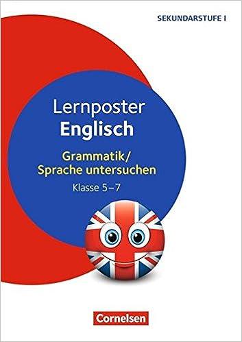 Lernposter Für Die Sekundarstufe Lernposter Englisch