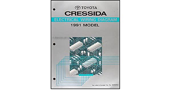 1991 toyota cressida wiring diagram manual original amazon com books rh amazon com 88 Cressida 79 Cressida