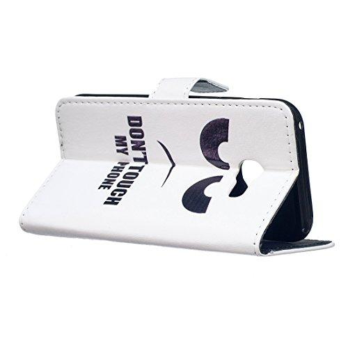 Wallet Flip Billetera Cierre A520 con Funcin Carcasa Caso PU A5 Galaxy 2017 2017 Lyzwn Soporte Cover de Cuero Magntico Funda Incorporado 3 Galaxy V Samsung A5 Case para Samsung Funda A520 vxqw8aPp