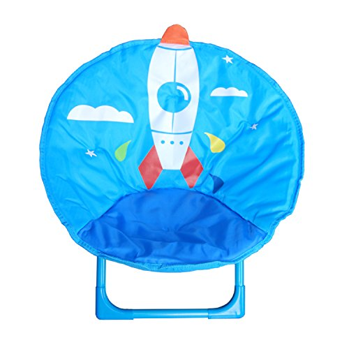 Blue Moon Garden Furniture (Kids Folding Round Chair for indoor and outdoor (Blue))