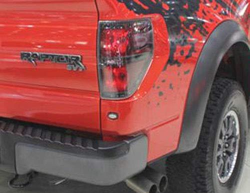 Raptor STV Tailgate Badge Replacement for 2009-2014 Ford F150 Aruisi Zcardon Black Raptor SVT Emblem