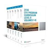 CFA Program Curriculum 2018 Level II Volumes 1-6 Box Set Front Cover
