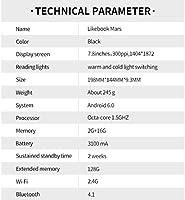 Likebook Mars E-Reader de 7.8 Pulgadas Pantalla E-Ink 300 PPI HD ...