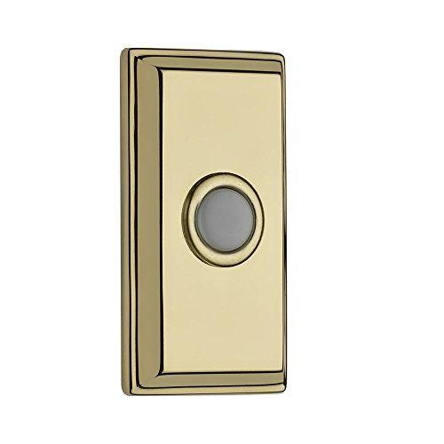 Baldwin 9BR7015-004 Rectangular Bell Button